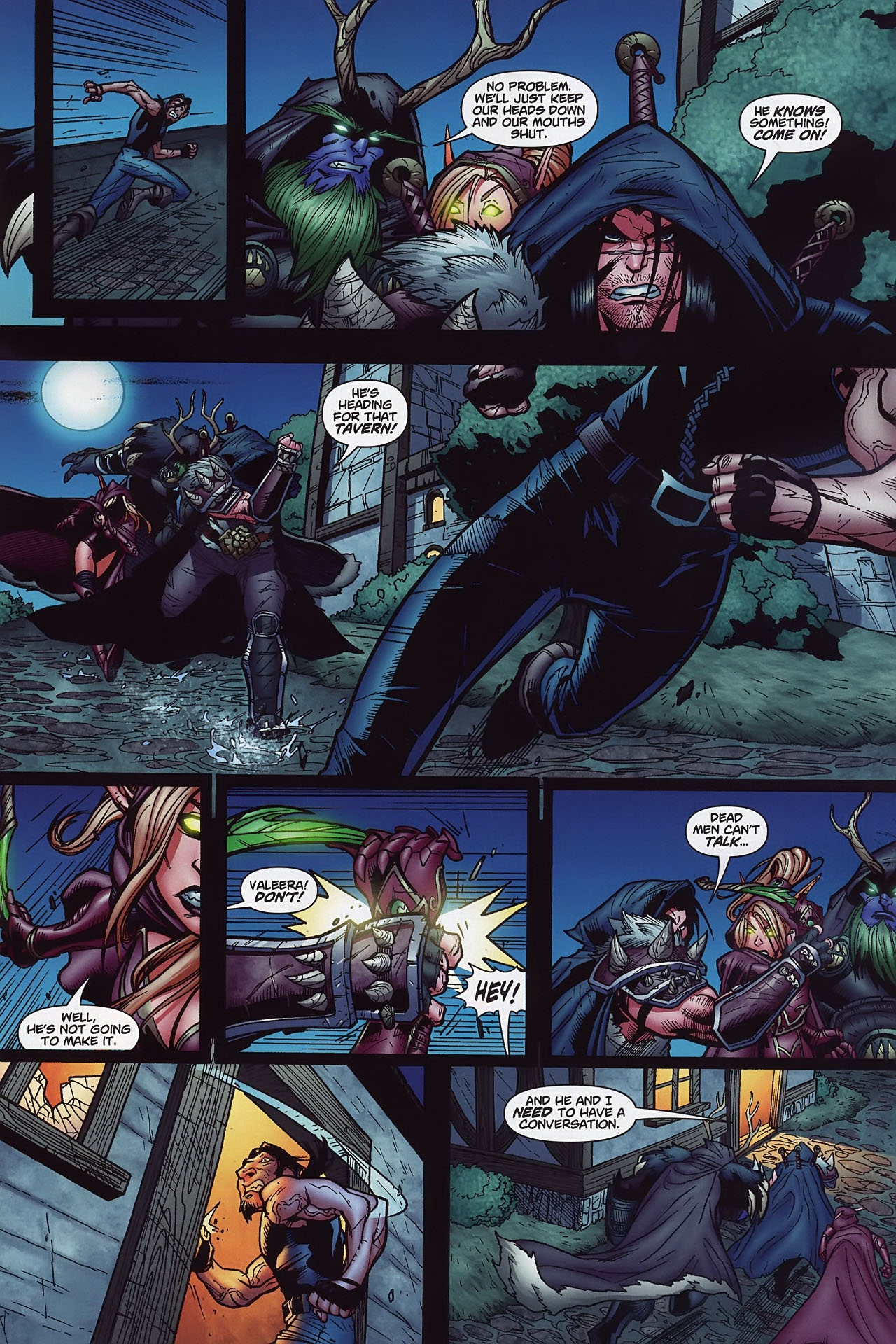 Read online World of Warcraft comic -  Issue #8 - 10