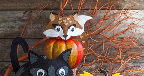 My Owl Barn Layered Felt Masks For Your Halloween Pumpkins