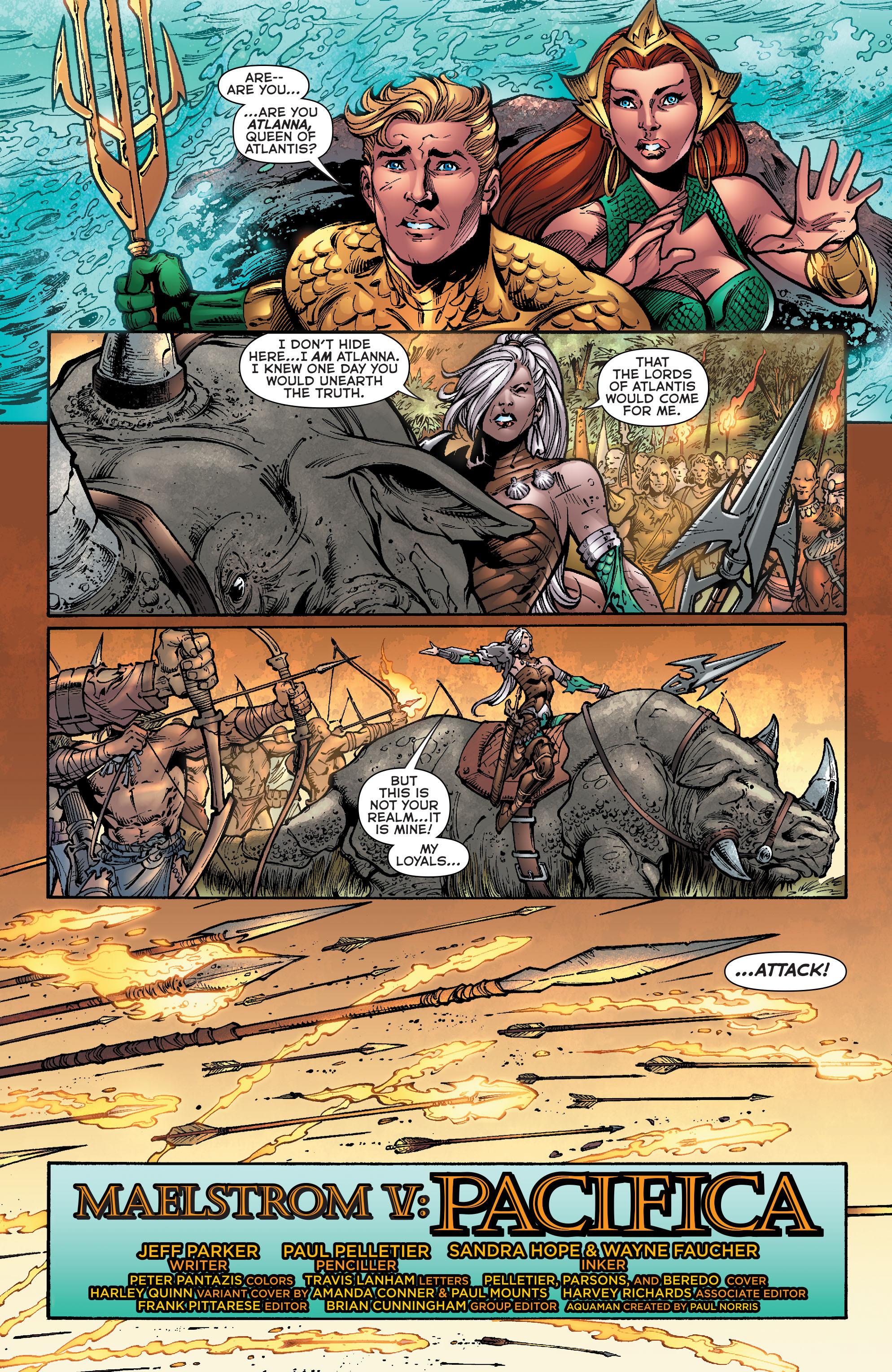 Read online Aquaman (2011) comic -  Issue #39 - 2