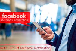 Stop Notifications Facebook