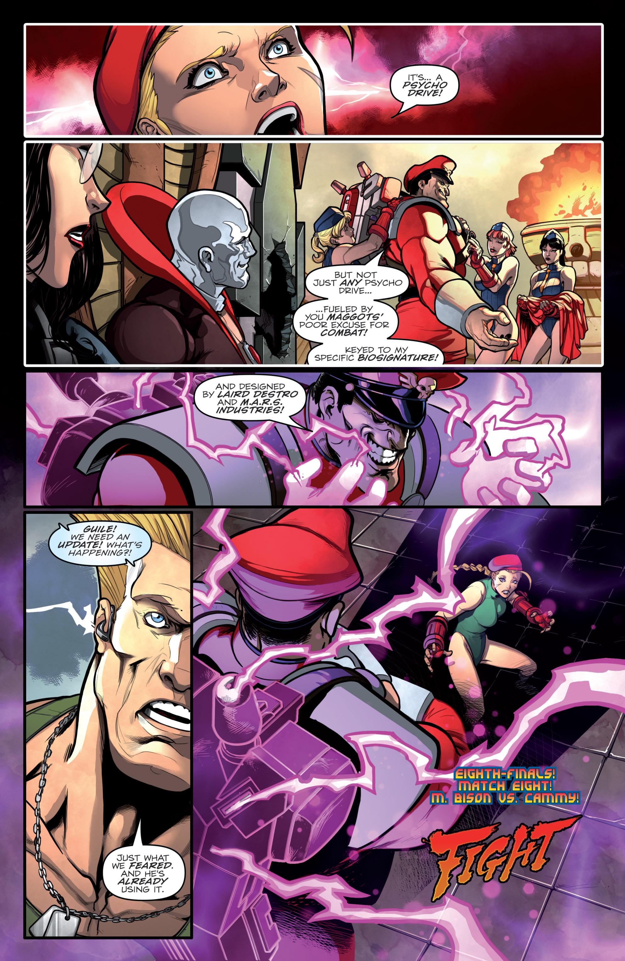 Street Fighter X G.I. Joe 2 Page 19