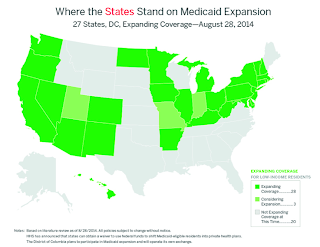 Where the States Stand on Medicaid Expansion