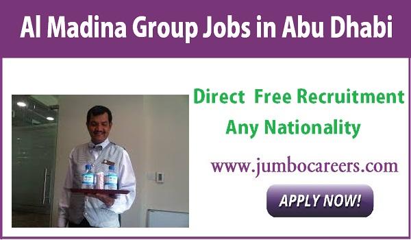 Tea Boy / Messenger Jobs in Abu Dhabi at Al Madina Group