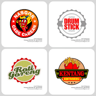 desain logo kentang goreng