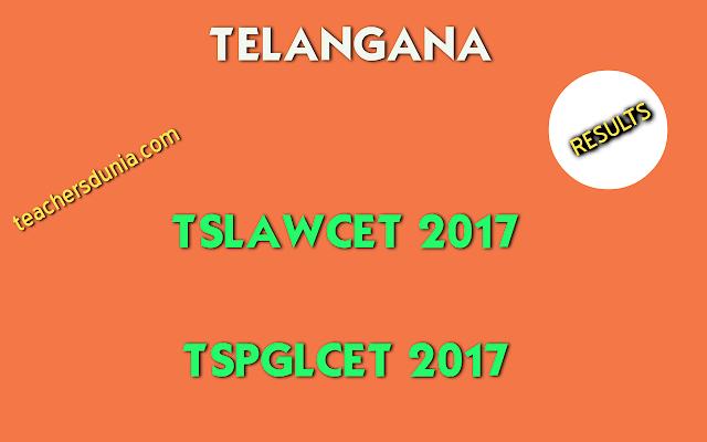 TSLAWCET-2017-Results