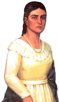 Dibujo de María Parado de Bellido a color
