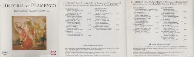 "LUIS EL ZAMBO ""TENTIMONIOS FLAMENCOS"" HISTORIA DEL FLAMENCO."
