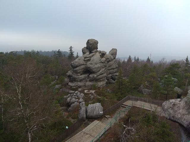 Szczeliniec Wielki - Park Krajobrazowy Gór Stołowych