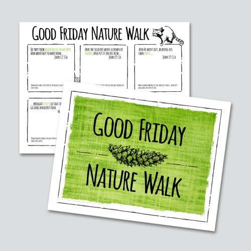 Good Friday Nature Walk Printable Pack
