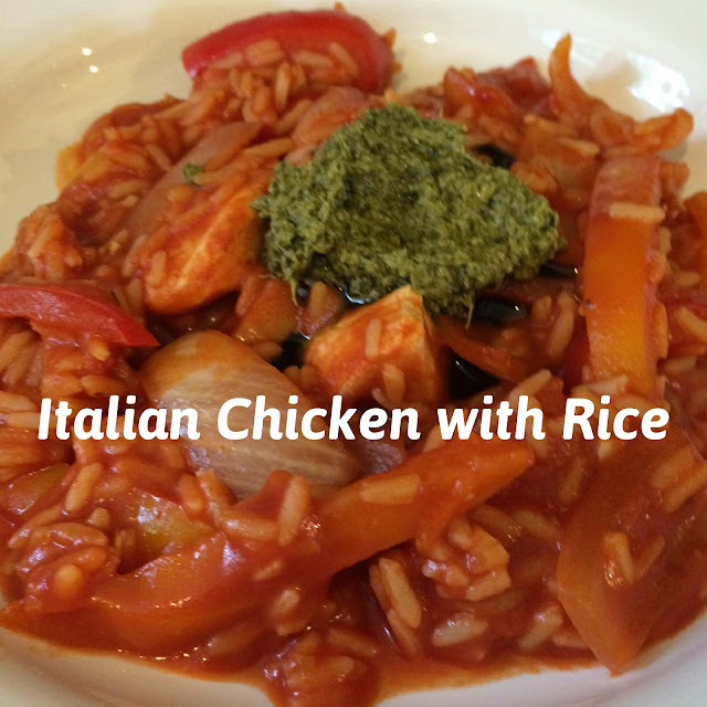 Italian chicken with rice recipe