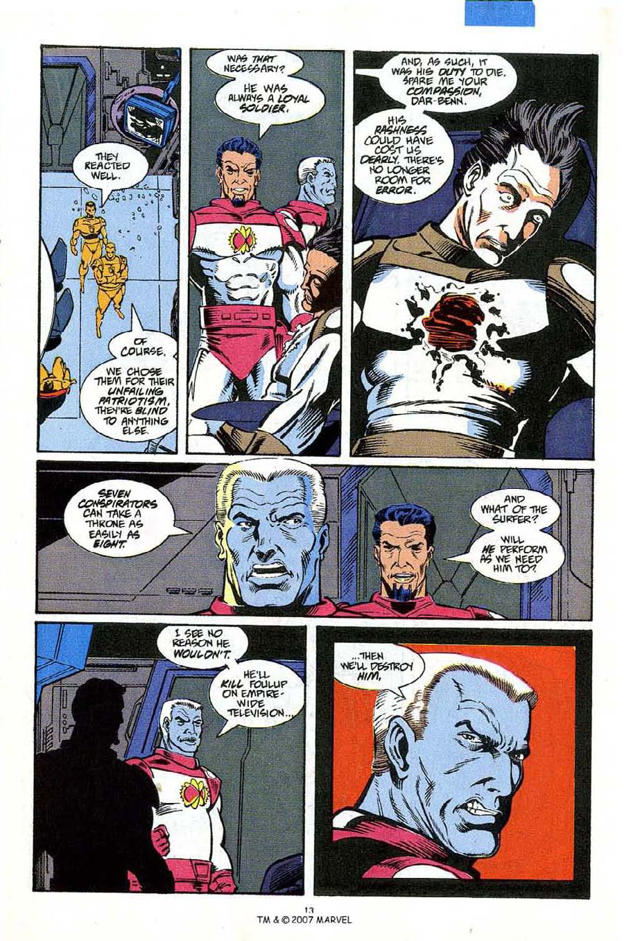 Read online Silver Surfer (1987) comic -  Issue #53 - 15