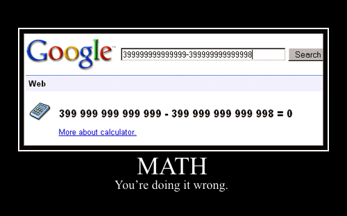 Solve Simple and Complicated Mathematics using Google