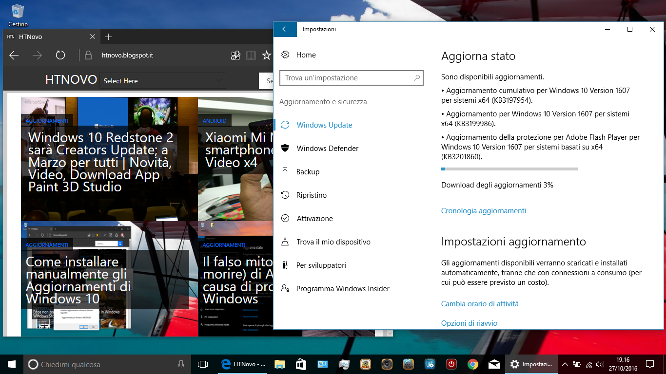 Windows 10 si aggiorna e arriva alla Build 14393.351 2 HTNovo