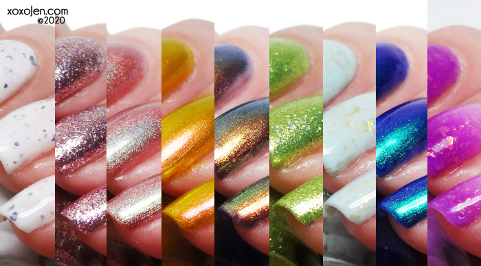 xoxoJen's swatch of KBShimmer KBShimmer: Beach Break Collection