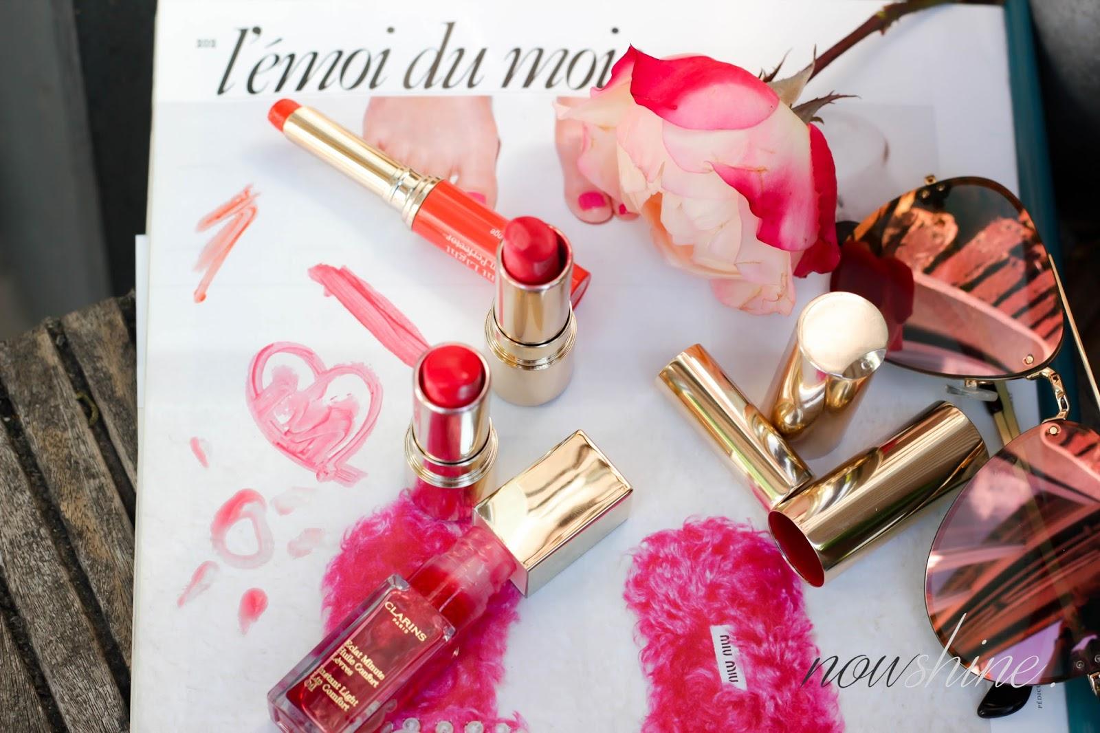 Sommer Lippenstifte von Clarins Beauty Blog über 40