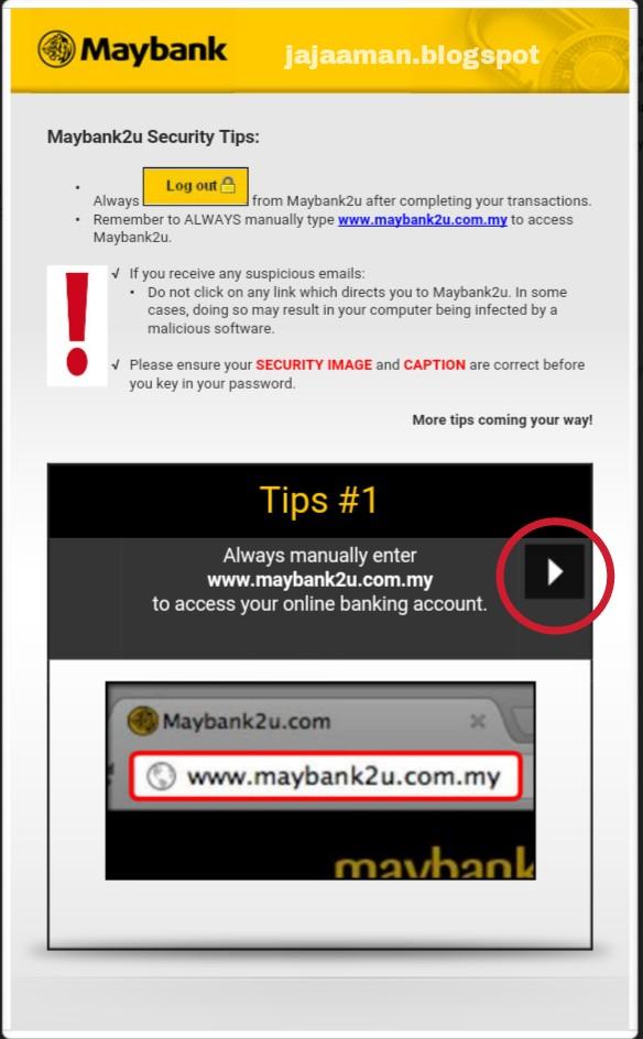 Jaja Aman Belog Coolbelog Cara Daftar Maybank2u First Time Login How To Register Maybank2u