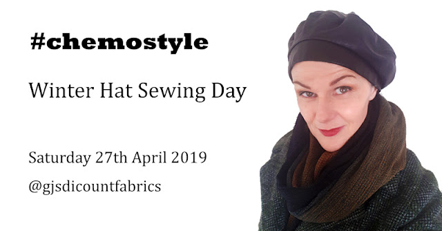 f4b0b3218f96 A quick heads-up that there ll be another  chemostyle workshop at GJ s  Discount Fabrics on 27th April. You can book in here (it s free