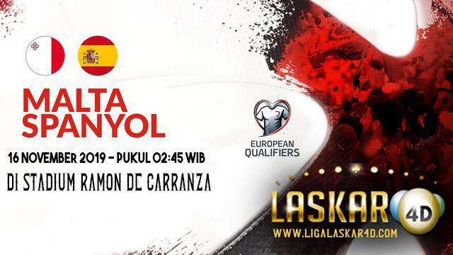 Prediksi Pertandingan Bola Spanyol vs Malta 16 November 2019