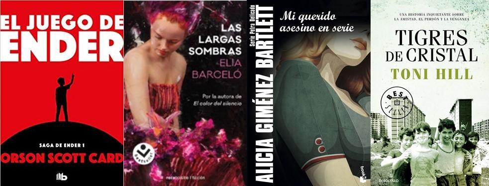 El Búho entre libros: NOVEDADES DE BOLSILLO 2019/6