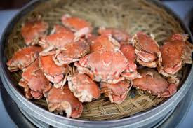 Steamed Crab Chinese Style