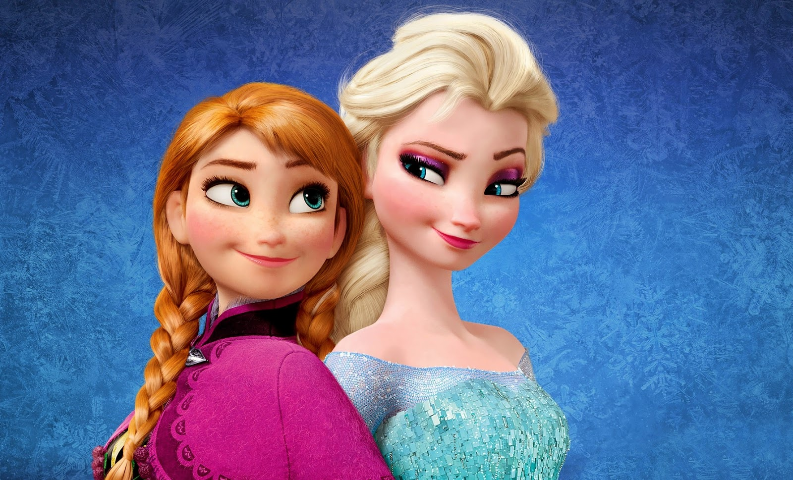 Disney Character Wallpapers -  Frozen - Elsa And Anna