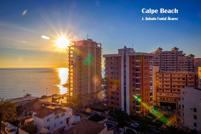 Calpe Beach by J. Antonio Fontal Alvarez