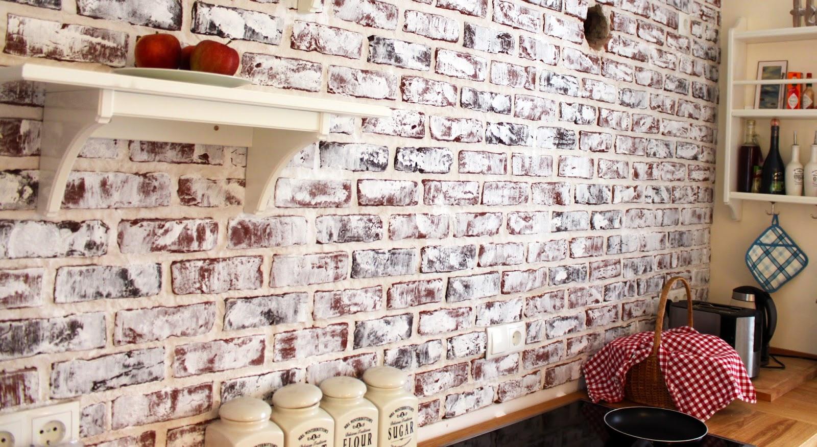 unser scheunenhaus do it yourself backsteinwand. Black Bedroom Furniture Sets. Home Design Ideas