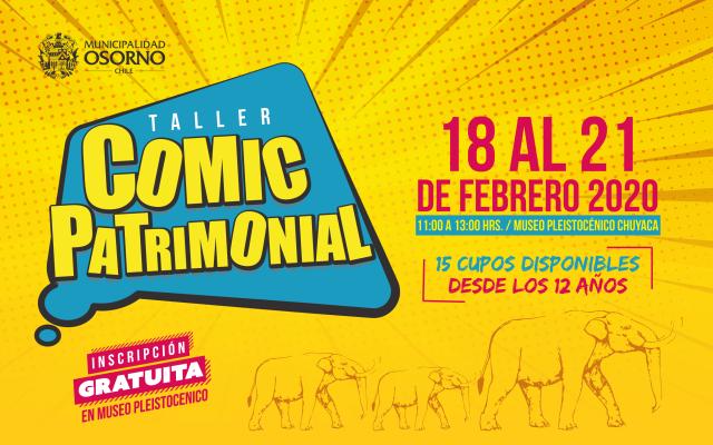 """Osorno: Primer Taller de """"Comic Patrimonial"""""""
