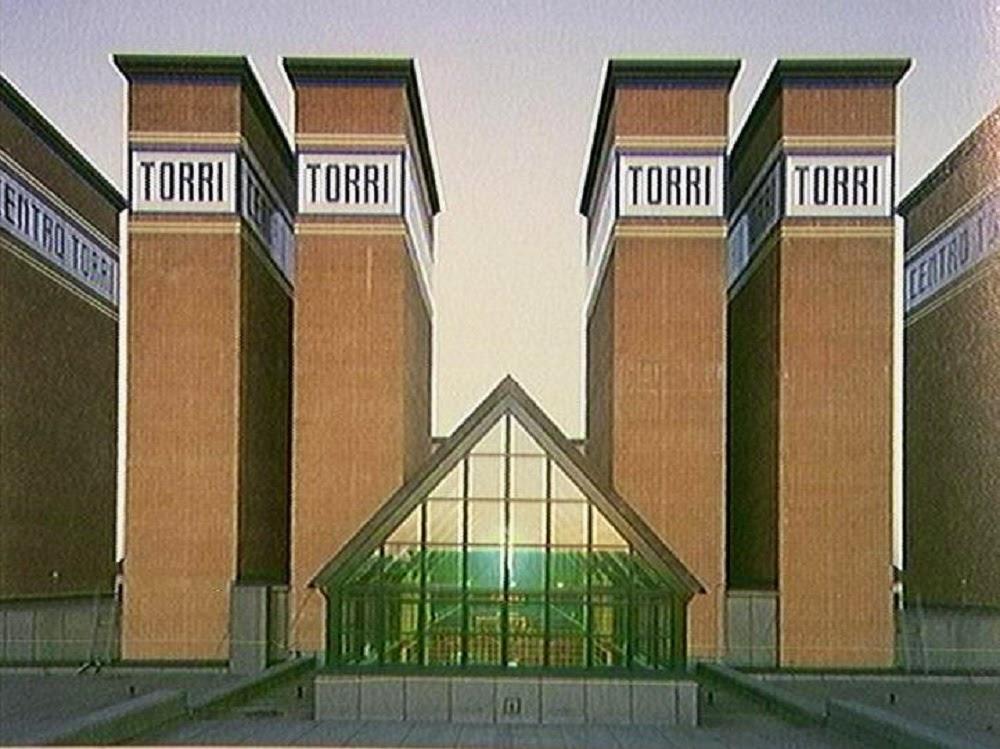 Di qua e di la ALDO ROSSI  Architetto italiano del XX secolo Italian architect of the