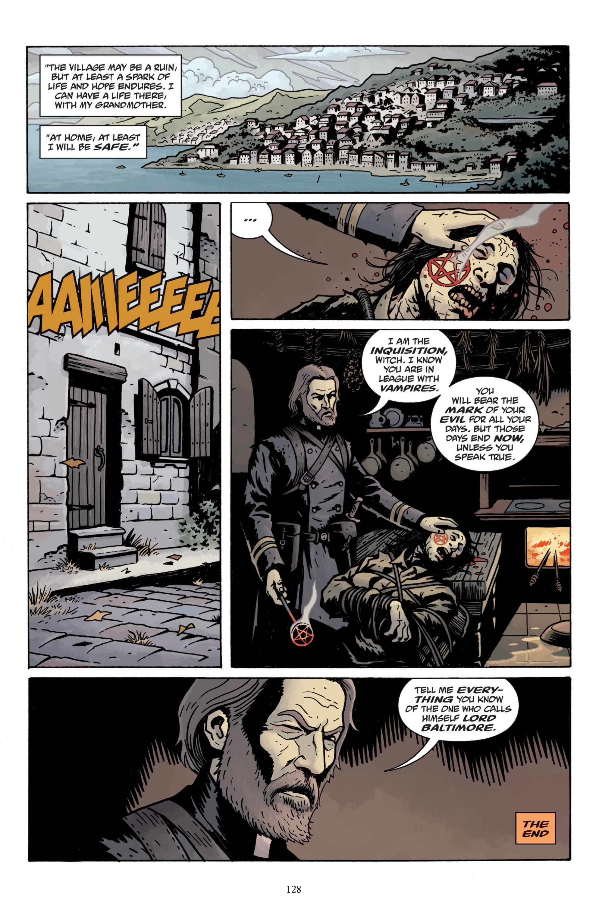 Read online Baltimore: The Plague Ships comic -  Issue # TPB - 127