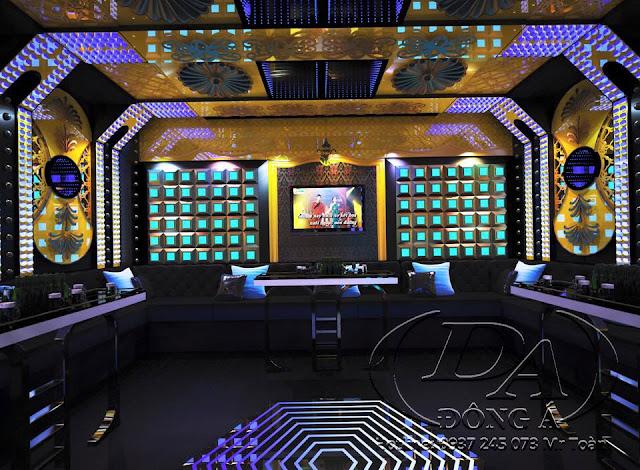 Thi công cách âm karaoke bar tại Dakmin