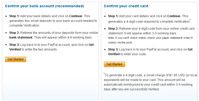 How To Create And Verify Paypal Account - Blogger Known