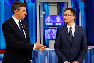 Slovenia Chooses Between the Incumbent and an Actor for President
