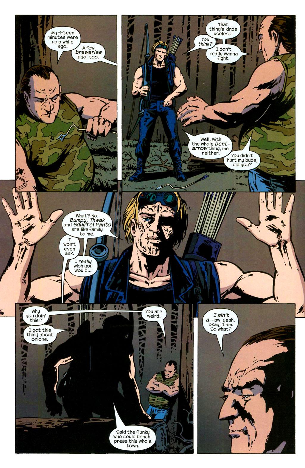 Hawkeye (2003) Issue #2 #2 - English 11