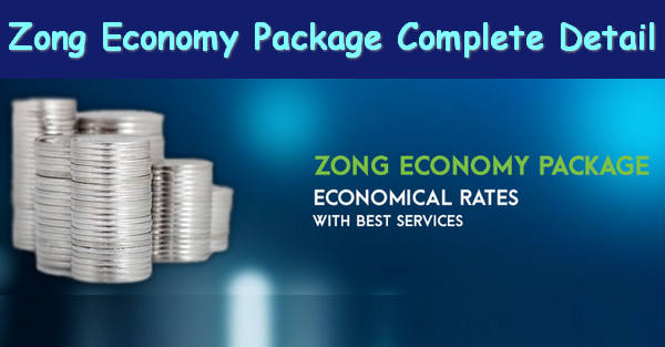Zong Economy Package Complete info