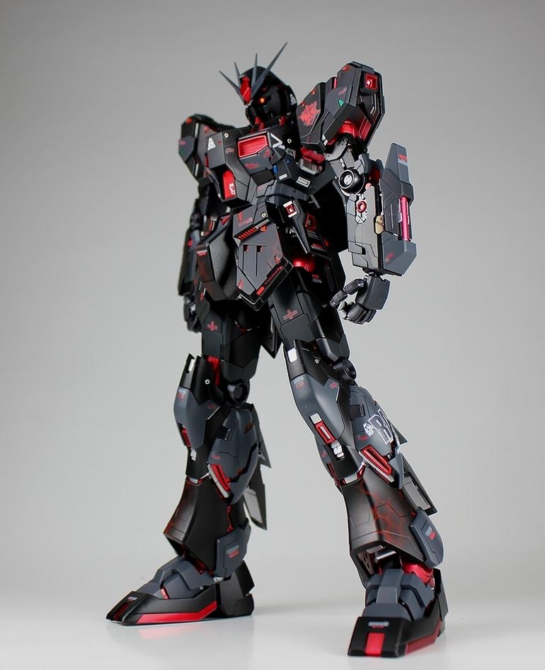 GUNDAM GUY: MG 1/100 Nu Gundam Ver. Ka 'Murder'