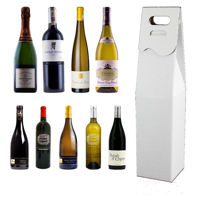 Pudełko opakowanie na wino