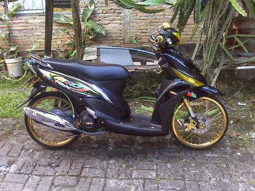 Modifikasi Drag Mio J