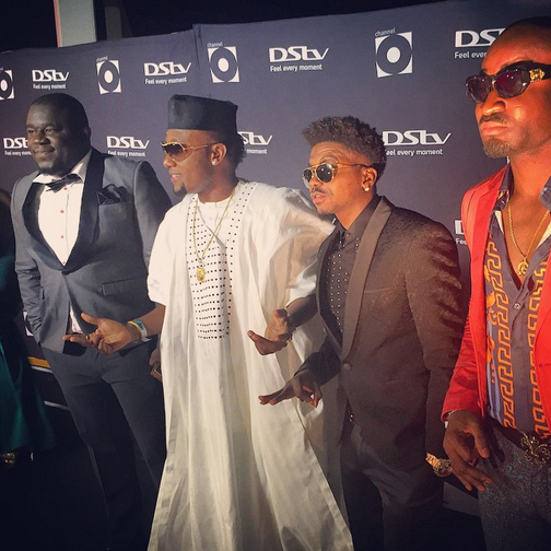 8 Photos: Nigerian stars at Channel O Awards