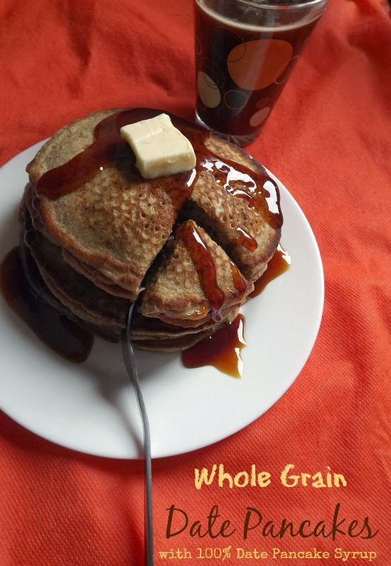 The Teal Tadjine North African Inspired Family Traditions Halal Recipes Naturally Sweetened Whole Grain Date Pancakes With Date Pancake Syrup Gluten Free Adaptable