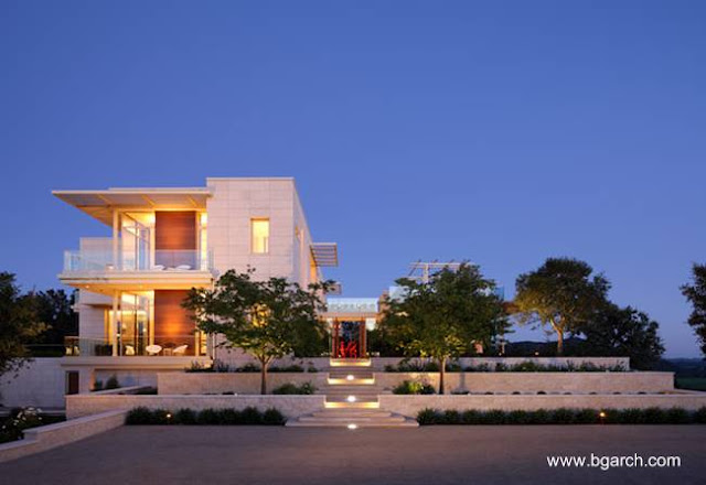 Residencia californiana estilo Contemporáneo en el Valle de Napa