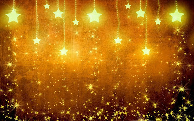 gold stars background widescreen hd wallpaper