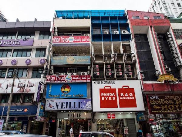 3 Hotel dalam 1 Ruko di Bukit Bintang Malaysia