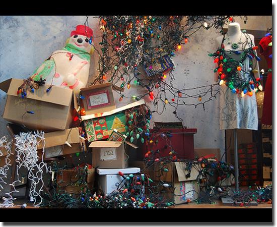 Natal Fail - As decorações mais infelizes do mundo - Reciclagem