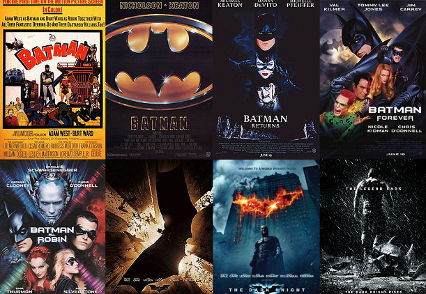 what are the three newest batman movies
