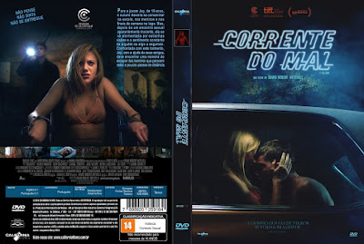 Filme Corrente do Mal (It Follows) DVD Capa