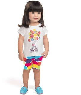 Lojas de moda infantil do Mega Polo