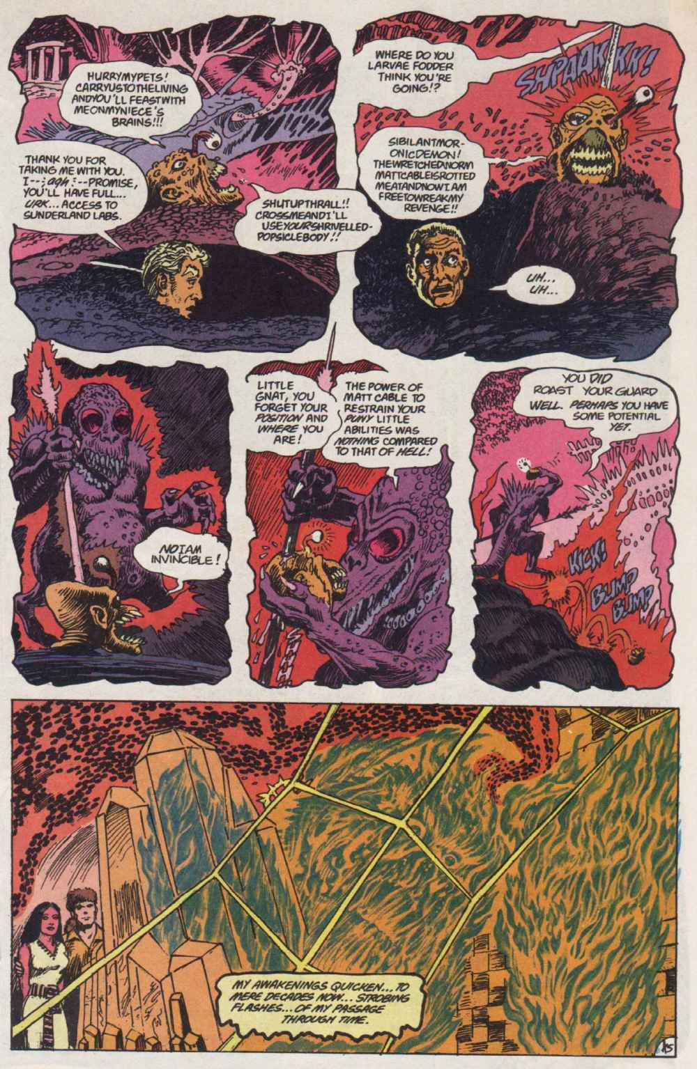 Swamp Thing (1982) Issue #90 #98 - English 16