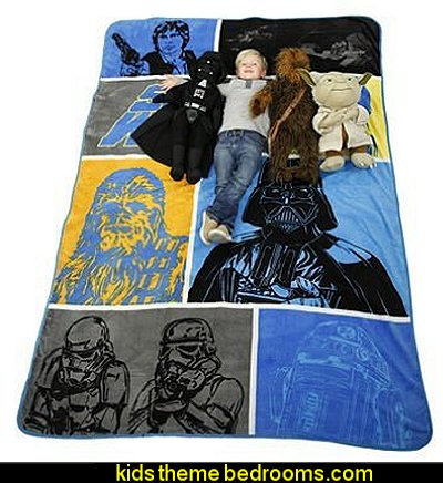 Star Wars Oversized Pillow Buddy and Blanket Set