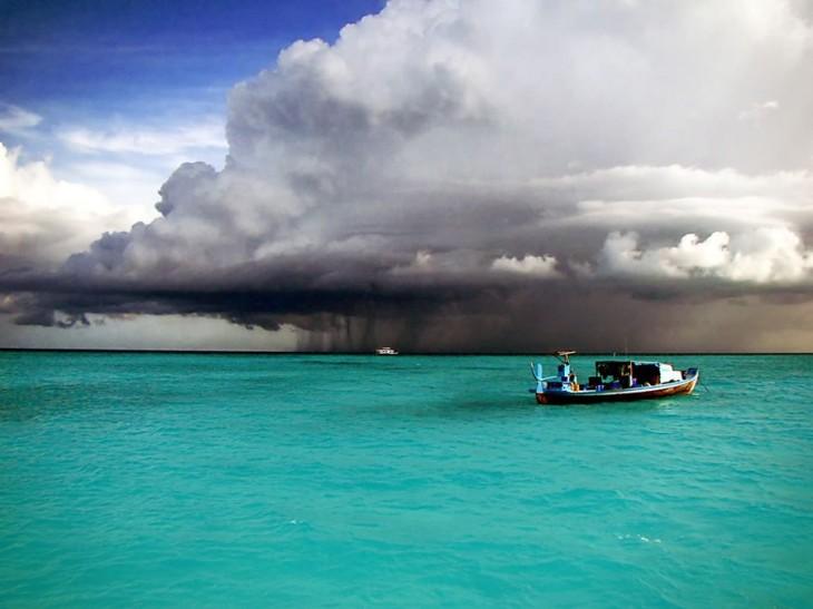 Paraíso en las Maldivas.
